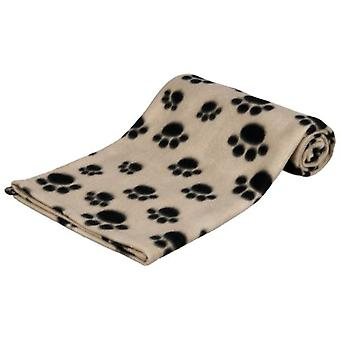 Trixie Manta afelpada Beany, 100x70 cm, Beige (Dogs , Bedding , Blankets and Mats)