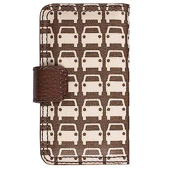 Orla Kiely rotativa Folio Case para Apple iPhone 4/4S, iPhone 3G/3GS (parque de estacionamento)