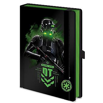 Rogue one: A Star Wars story premium notebook death trooper. DIN A5, hardcover, look & feel like leather, hardcover, 240 pages blank.