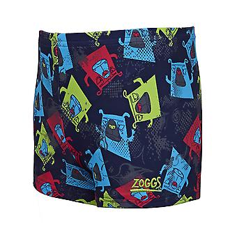 Racer Zoggs Boxer chien Hip Navy/Multi