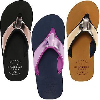 Animal Womens Swish Upper Slip On Beach Holiday Thongs Sandals Flip Flops