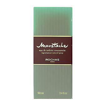 Rochas Moustache Eau De Toilette Concentree Spray 3.4Oz/100ml (Damaged Box)