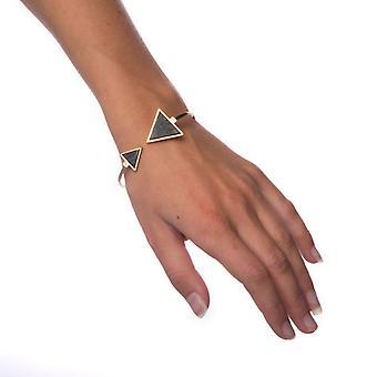 Bracelet Black Marble-Triangle