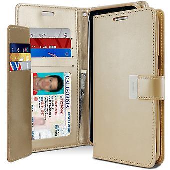 Mercury GOOSPERY Rich Diary to Samsung Galaxy S8 Plus Gold