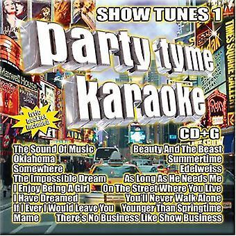 Party Tyme Karaoke - Party Tyme Karaoke: Vol. 1-Show Tunes [CD] USA import