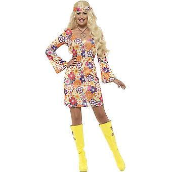 Flower Hippie Kostüm XL