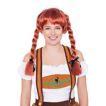 Fraulein Pigtaill Wig Auburn