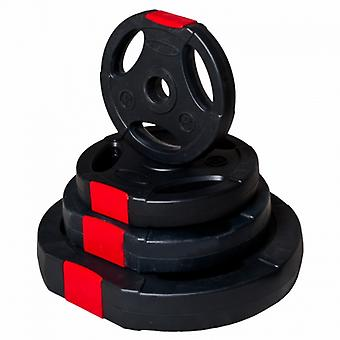 Gewicht 15 kg mit Greifer Griff Kunststoffscheibe es