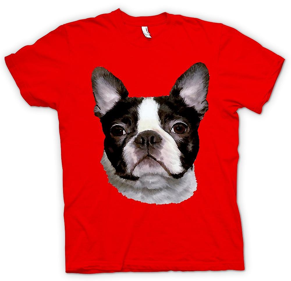 Heren T-shirt - Boston Terriër Pet - hond
