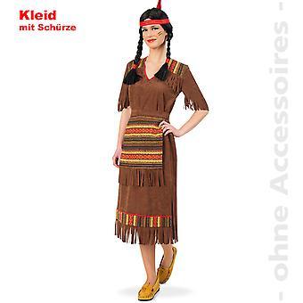 Indyjskie kobiety kostium kostium Lady Squaw Mohikanin indyjski dama