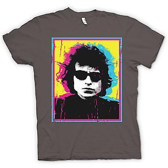 メンズ t シャツ - サイケデリックなボブ ・ ディランの 60 年代のスイング