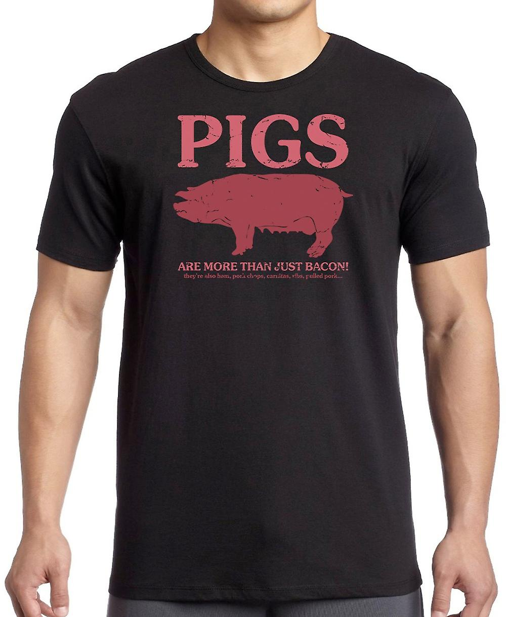 Pigs Are More Than Just Bacon -They are ham, Pork Chops ... Women T Shirt