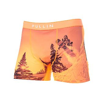 Pull-In Orange Fashion 2 Back Country Boxer Shorts