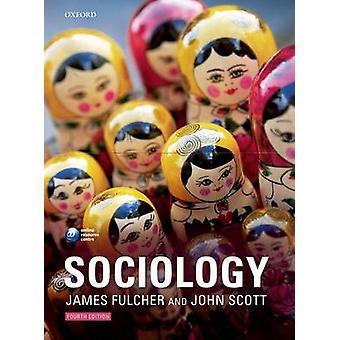 كتاب علم الاجتماع بجيمس فوشيه-جون سكوت--9780199563753