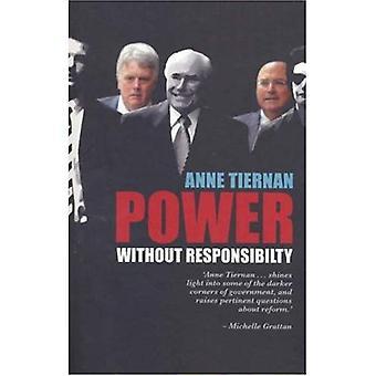 Macht zonder verantwoordelijkheid?: ministeriële stafleden in Australische regeringen van Whitlam Howard