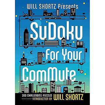 Will Shortz presenteert Sudoku voor je pendelen: 200 uitdagende puzzels