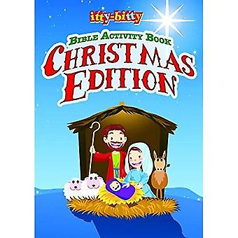 Ittybitty Christmas Edition: Ittybitty Bible Activity Book