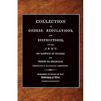 Sammlung von Aufträgen Vorschriften & Instr