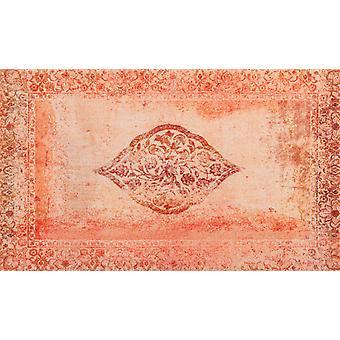 wash+dry Fußmatte Vintage Bloom randloser waschbarer Teppich Decor