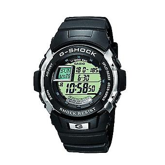 Casio quartz digital watch with black resin strap G-7700-1ER