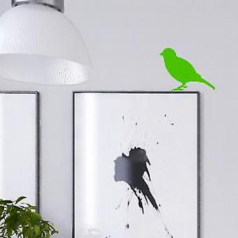 Neon vogel muur Sticker