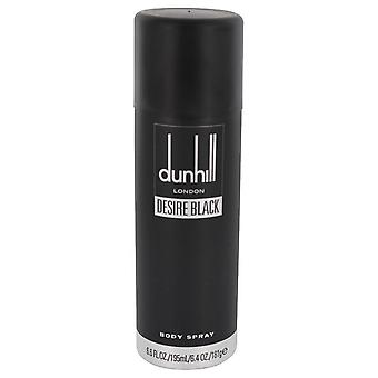 Desire Black London by Alfred Dunhill Body Spray 6.4 oz / 189 ml (Men)