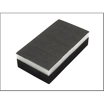 HAND SANDING PAD 70 X 125MM DOUBLE SIDED