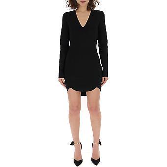 Dsquared2 Black Silk Dress