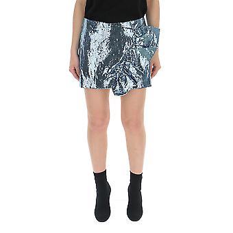Laneus Light Blue Glitter Skirt