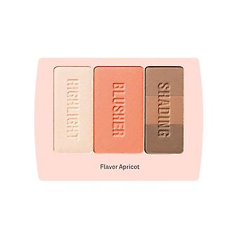 Blusher Palette Flavor Apricot