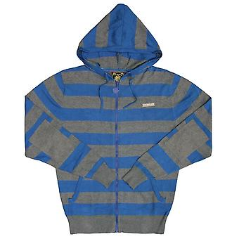Live Mechanics Hype Stripe Hoody Sweater Strong Blue