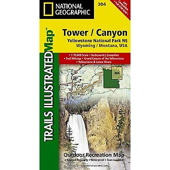 Tower / Canyon Yellowstone National Park NE - Wyoming / Montana - USA