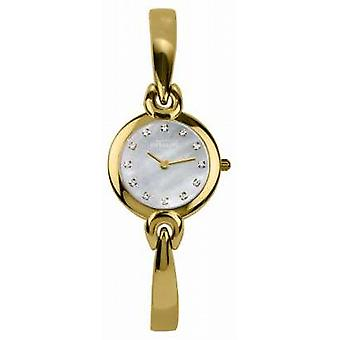 Michel Herbelin Mother Of Pearl Dial, Gold Tone Bracelet 17001/BP59 Watch