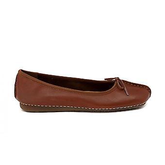 Clarks Freckle DK Tan 352930 Universal kvinder sko