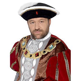 Henrio el octavo rey Hat Sombrero