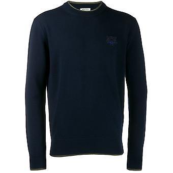 Kenzo Blue Wool Sweater