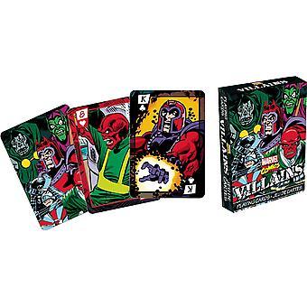 Carta da gioco - Marvel - Cattivi Poker Gioco Concesso In licenza Gifts Toys 52287