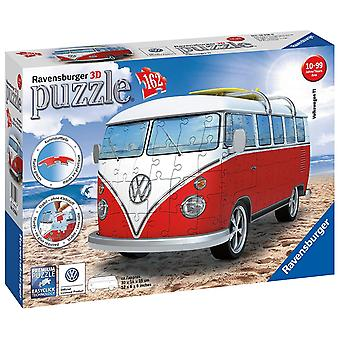 Jigsaw 3D VW T1 campervan door Ravensburger geen 12 516 6