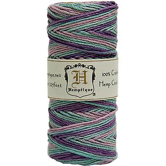 Hemp Cord Spool Variegated 20# 205 Feet Pkg Pastel Hsv20 9376
