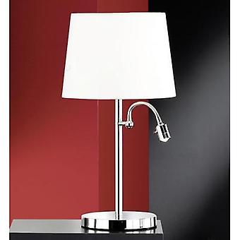 Desk lamp HV halogen E27 46 W Honsel Lebon 51412 White