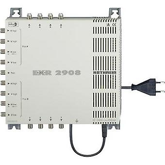 SAT multiswitch Kathrein EXR 2908 Inputs (multiswitches): 9 (8 SAT/1 terrestrial) No. of participants: 8