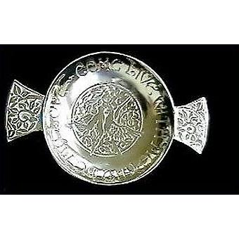 Come And Live With Me And Be My LoveInch; Pewter Quaich - 130Mm