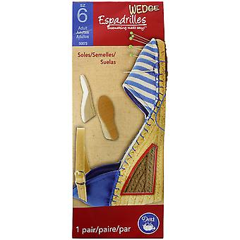 Espadrille Wedges - adulte-taille 6 ESADW500-73