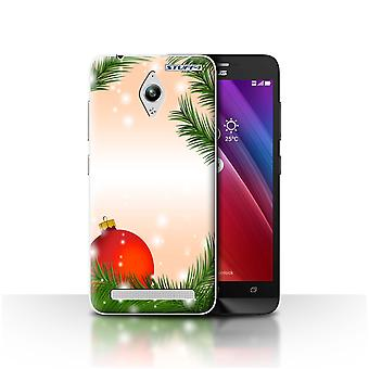 STUFF4 Case/Cover for Asus Zenfone Go ZC500TG/Bauble/Tree/Christmas Decorations