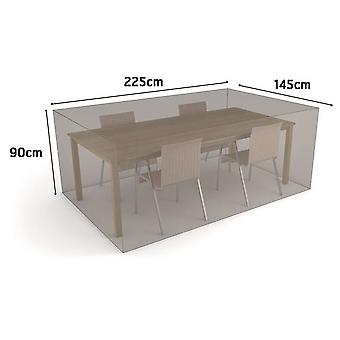 Nortene Case rectangular table + 4 chairs 225 x 145 x h.90 2013599