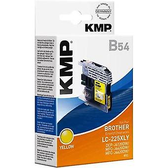 KMP Ink replaced Brother LC-225XLY Compatible Yel