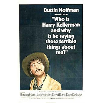 Who Is Harry Kellerman Movie Poster (11 x 17)