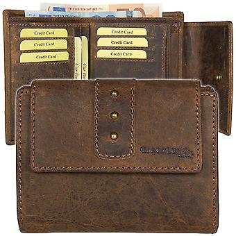GREEN country classic Buffalo leather purse wallet 2533-25