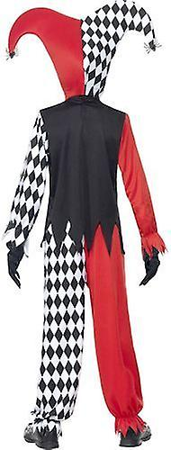 Smiffys Childrens Blood Curdling Jester Halloween Costume