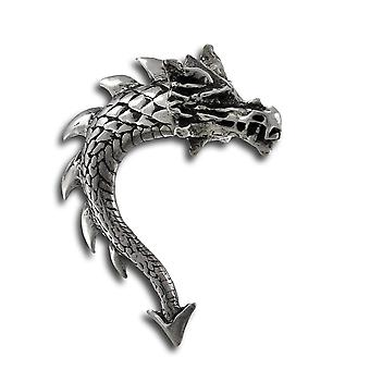 Alchemy Gothic Dragon Tor recto verso Stud Earring